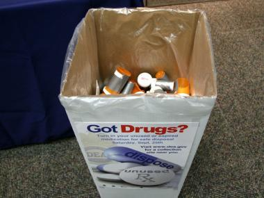 People will be able to anonymously dump their unused drugs into bins at various locations throughout the city.