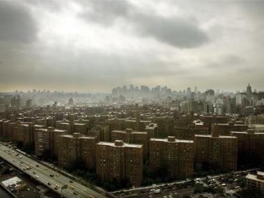 The Stuyvesant Town and Peter Cooper Village complex sits on 80 acres on Manhattan's East Side.