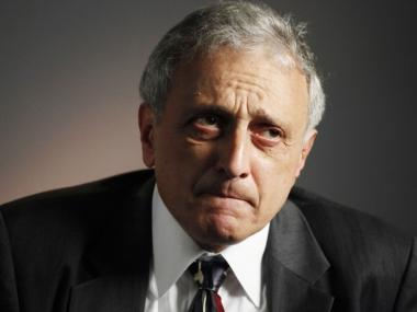 New York Republican gubernatorial candidate Carl Paladino speaks during an interview with The Associated Press in New York on Sept. 27, 2010.