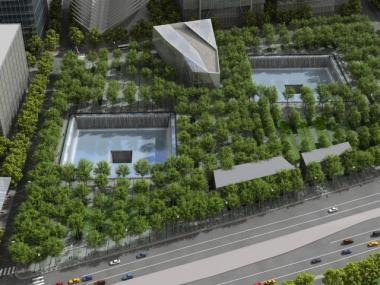 The 9/11 memorial is scheduled to open to the public on Sept. 12, 2011.