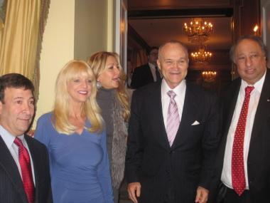 NYPD Commissioner Ray Kelly (center) attended the 22nd annual PAL Women of the Year awards, where his wife was among the honorees.