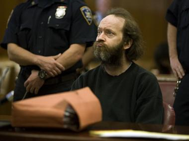 David Tarloff, 42, on the first day of his trial.