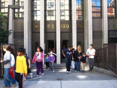 Elevated levels of toxic chemicals called PCBs were detected at P.S. 199 on West 70th Street two years ago. City officials say the PCBs don't pose a health risk.