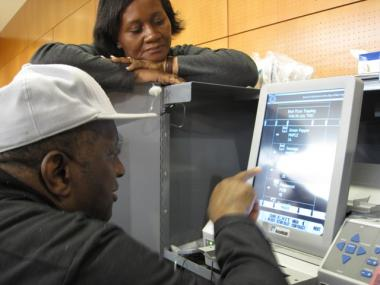 Blind Voters On The Upper West Side Determined To Vote