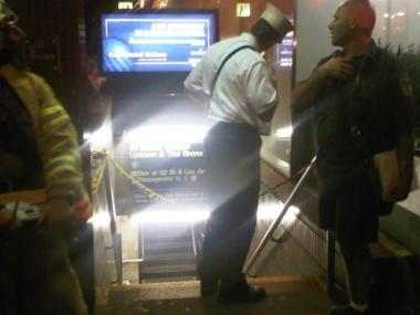 Smoke coming off an escalator forced 6 trains to bypass the Lexington Avenue-51st Street stop.