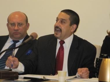 Board of Elections executive director George Gonzalez defended his agency's handling of the primary during a City Council hearing Monday.