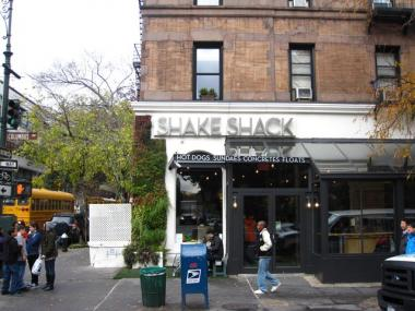 Shake Shack's West 77th Street and Columbus Avenue location is offering marathon runners free milkshakes and