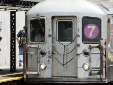 The No. 7 train won't operate between Times Square and Queensboro Plaza this weekend.