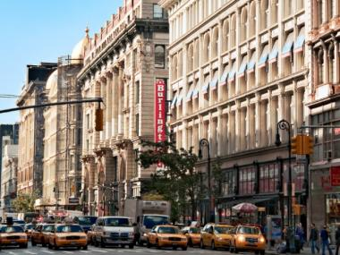 Ladies' Mile, the landmarked retail strip on Sixth Avenue between 15th and 24th Streets, has been floated as a possible location for Walmart's first store in New York City, according to reports.