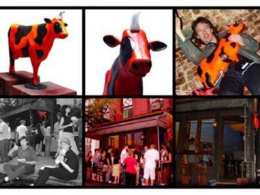Bessie, a plastic cow that became the mascot for Avenue C bar the Sunburnt Cow, went missing last month.