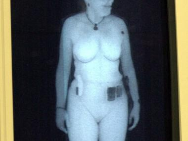 The full-body scanners bounce X-rays off the skin producing a black-and-white image some say is too revealing.