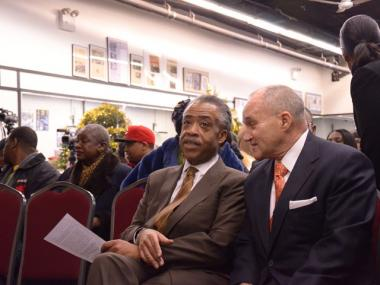 Police Commissioner Ray Kelly and Rev. Al Sharpton discuss a gun buy back program.