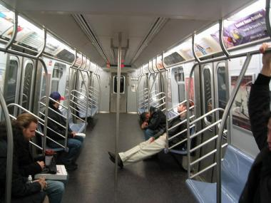 Lawmakers want the MTA to unlock doors between subway cars so passengers can move if they feel threatened.