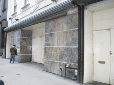 The club's planned Fashion District location at 20 W. 39th St. is currently vacant.