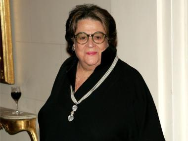 Elaine Kaufman attends the 11th Annual Living Landmarks Gala at The Plaza Hotel November 3, 2004 in New York City.