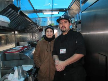 Patricia Monroy and Alberto Loera of Paty's Tacos