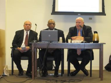 NYC Transit President Thomas Prendergast testified at a City Council hearing into fraudulent inspection reports Thursday.