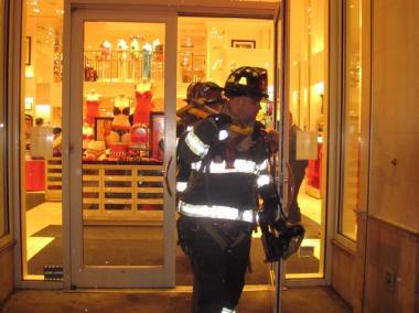 Firefighters Swarm Victorias Secret On Upper East Side Upper East