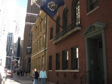 The Anglers' Club of New York has been located at 101 Broad St. since 1940.
