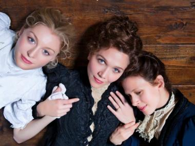 Juliet Rylance, Maggie Gyllenhaal and Jessica Hecht star in the CSC production of Anton Chekhov's