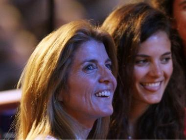 Caroline Kennedy and her daughter, Tatiana Schlossberg.