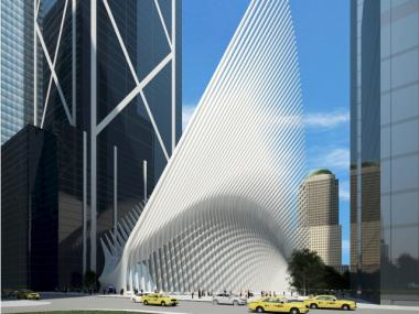 Santiago Calatrava's PATH hub will be the third largest transportation station in the city.
