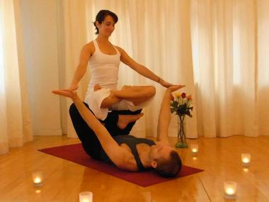 The Om Factory's partner yoga and Thai massage will delight spiritual couples.