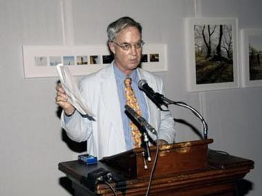 John James pictured at a National Arts Club in 2008.