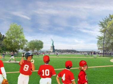 Two new sports fields are on the way to Governors Island thanks to a $150 million allocation in Mayor Michael Bloomberg's capital budget.