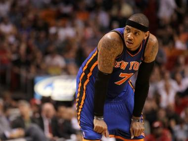New York Knick Carmelo Anthony could be shopping for an apartment on the Upper West Side, a blog reported.