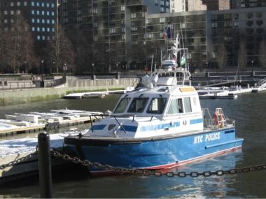 The body of Huang Kong was pulled from the Hudson River at North Cove Marina on Feb. 22.