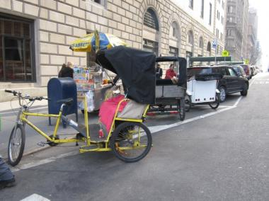The pedicab industry is under scrutiny by the City Council and a West 57th Street garage owner may be breaking the law.