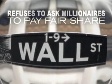 A new ad from the UFT argues that Bloomberg should ask millionaires for more help in saving jobs in NYC schools.