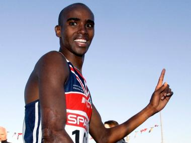 Mo Farah, seen here in 2006, won the New York City Half Marathon on March 20, 2011.