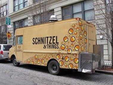 The Schnitzel & Things truck