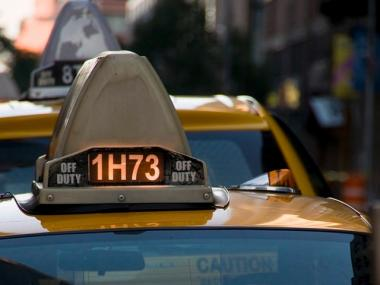 Passengers can now use their cab's medallion number to track down contact information for the appropriate taxi garage.