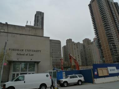 Glenwood Management is building a high-rise next to Fordham University's expanding campus near Lincoln Center.