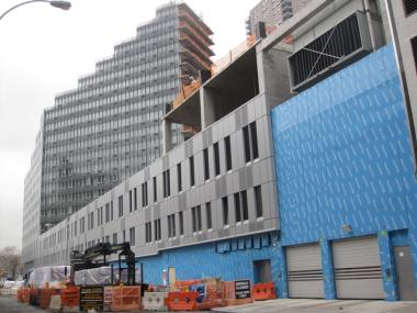 The Two Trees development at 770 Eleventh Avenue was slated to house NYPD horses.