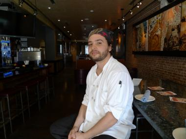 Executive chef Max Kennedy says Blue Caravan will serve an eclectic mix of cuisines, with French, Middle Eastern, Latin American and Southeast Asian influences.
