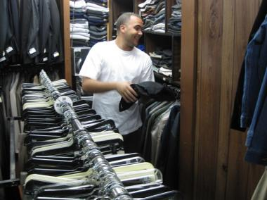Steve Lopez, 23, whose family owns A.M.– P.M. Menswear on Third Avenue between East 106th and 107th streets, said his store is the only one in the area that sells suits and sweaters and dress shoes.