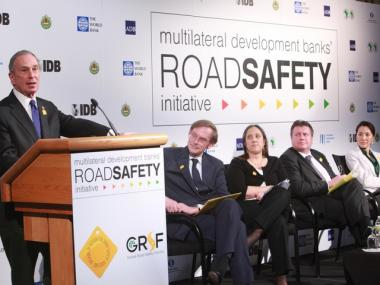 Mayor Bloomberg delivered remarks Tuesday at the Road Safety Meeting Hosted by World Bank & Inter-American Development Bank.