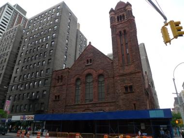 West-Park Presbyterian at West 86th and Amsterdam Avenue.