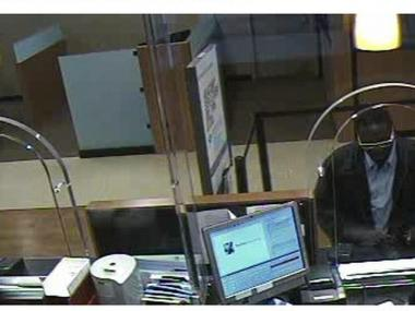 Police are looking for this man in connection with a bank robbery on 125th and St. Nicholas Avenue Street on May 2, 2011.