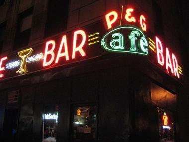 P&G Bar lost its iconic neon sign when it moved to a new location at Columbus Avenue and West 78th Street.
