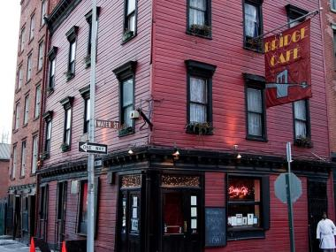Bridge Cafe, the oldest surviving tavern in New York, was cited for 46 violation points.