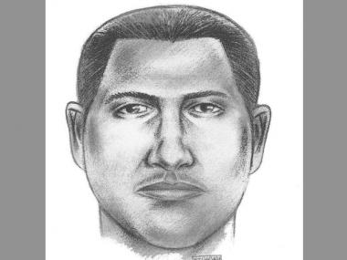 Police sketch of suspect in June 10 sexual assault of woman on 75th Street and Broadway.