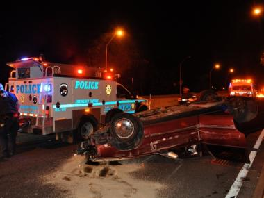 Another accident took place yesterday by 79th Street and Henry Hudson Parkway.