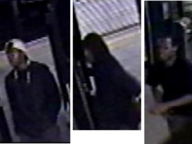 These suspects are wanted for a series of robberies in the train station at 135th Street and St. Nicholas Avenue.