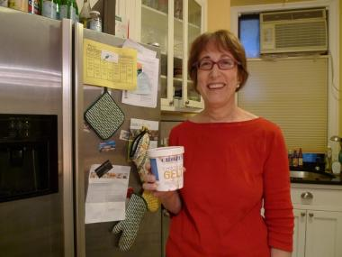 Laura Weiss, an Upper West Side food blogger and author of