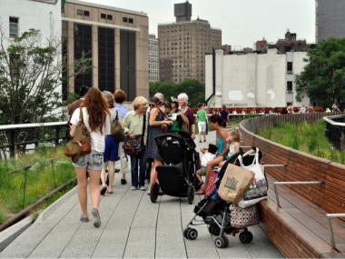 The High Line will close early July 4.